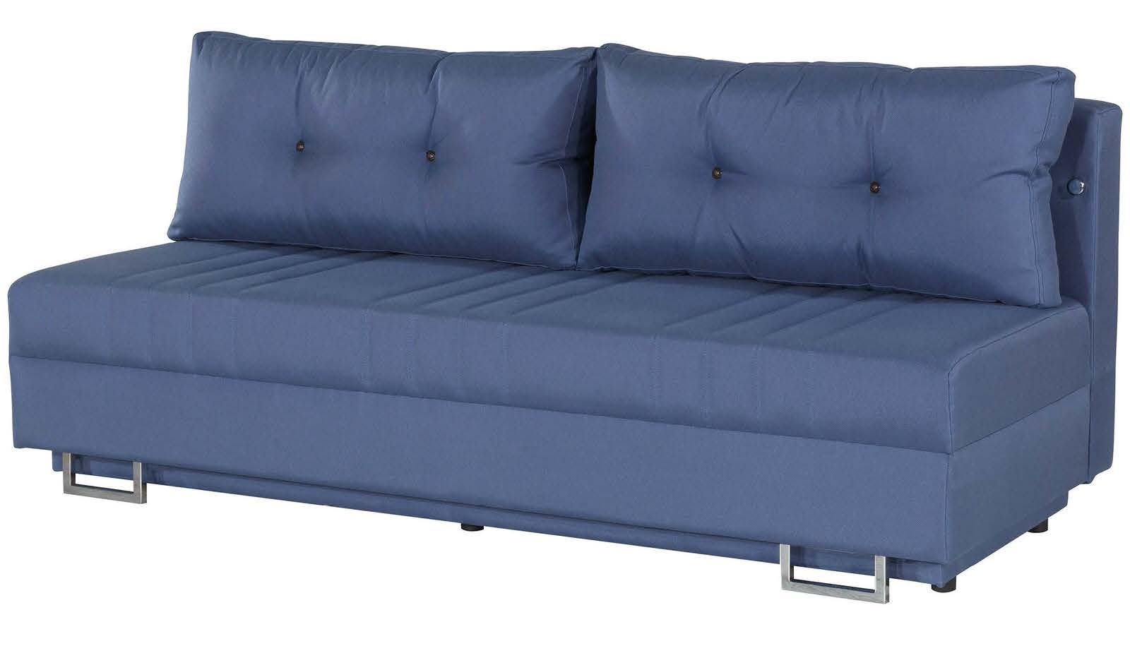 Flex Motion Blue Queen Sofa Bed Storage Casamode