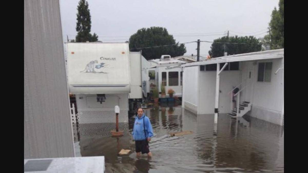 Flooding Peninsula Mobile Home Park Prompts Lawsuit Nbc Bay Area