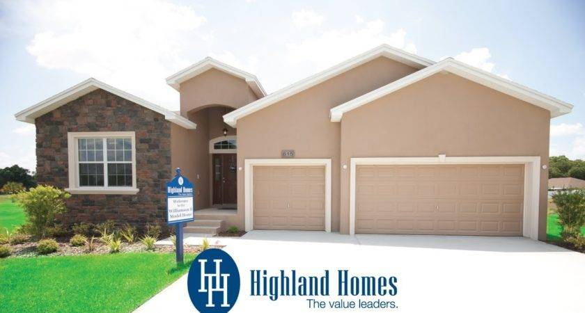 Floor Home Highland Homes Plant City New Sale