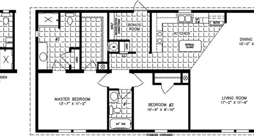 Floor Plan Manufactured Homes