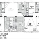 Floor Planning Double Wide Trailersmobile Homes Ideas Mobile