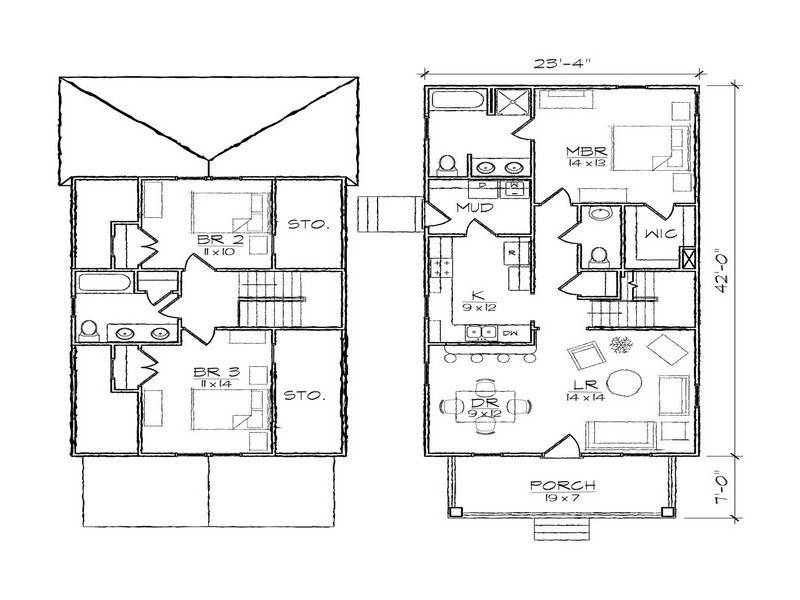 Floor Plans Small Modern House Design