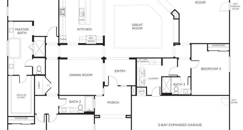 Floorplan Bedrooms Bathrooms Square Feet