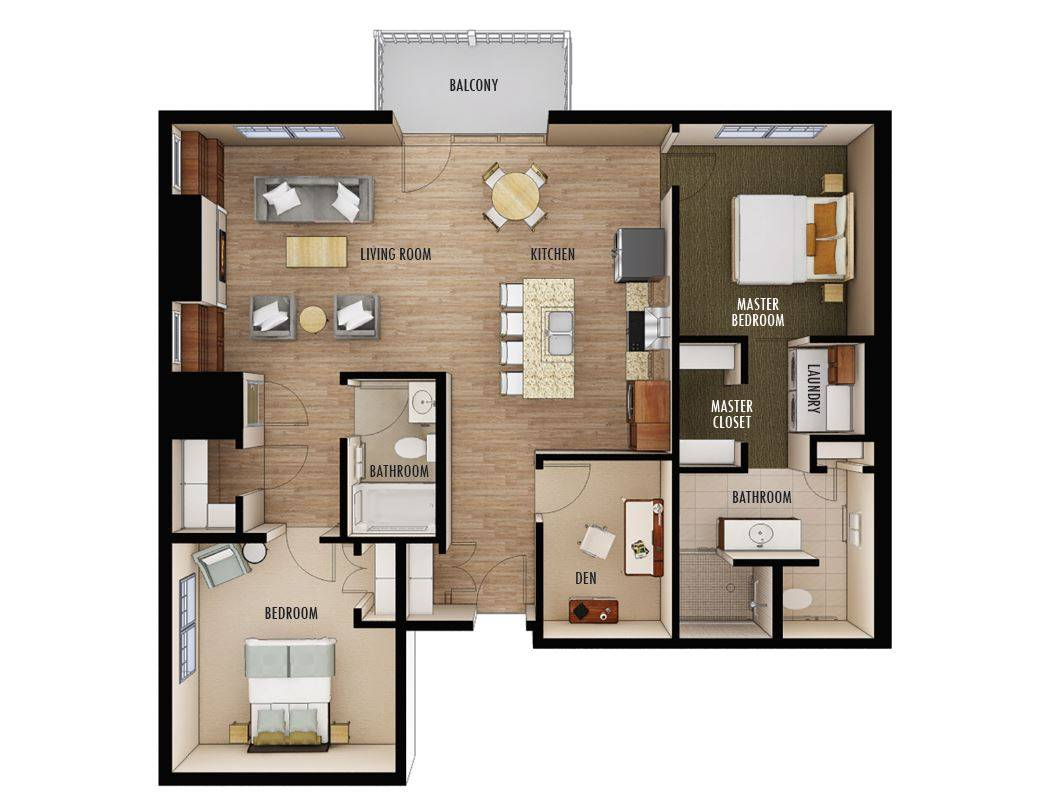 Floorplans Chateau Waters Cloud