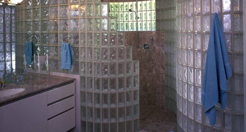 Florence Mobile Home Community Block Glass Shower Showers