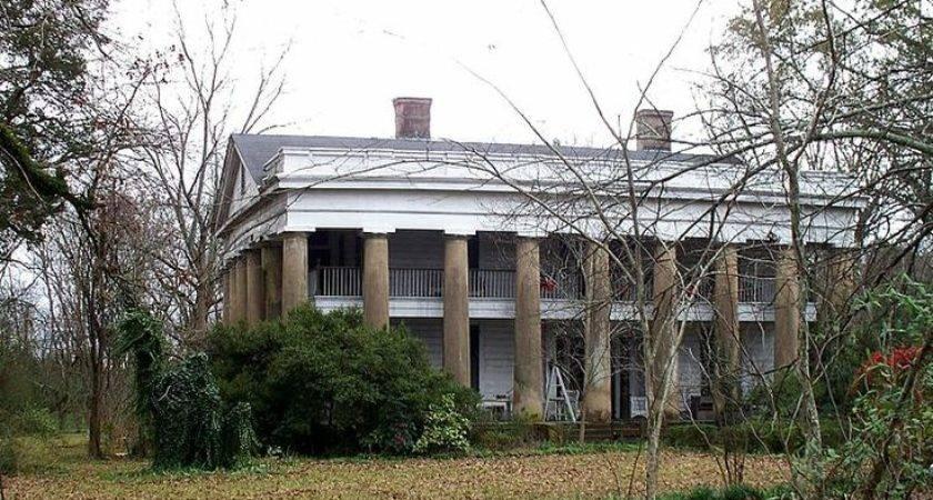 Folly Plantation House Built Uniontown Perry County Alabama