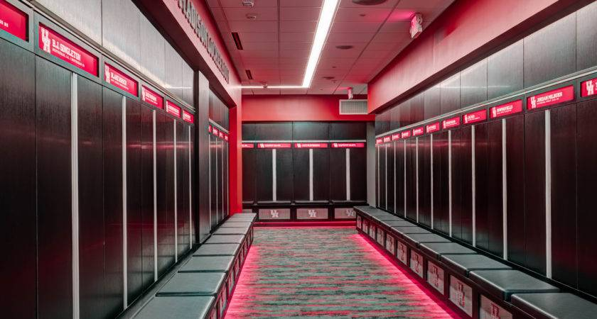 Football Locker Room Project University Houston