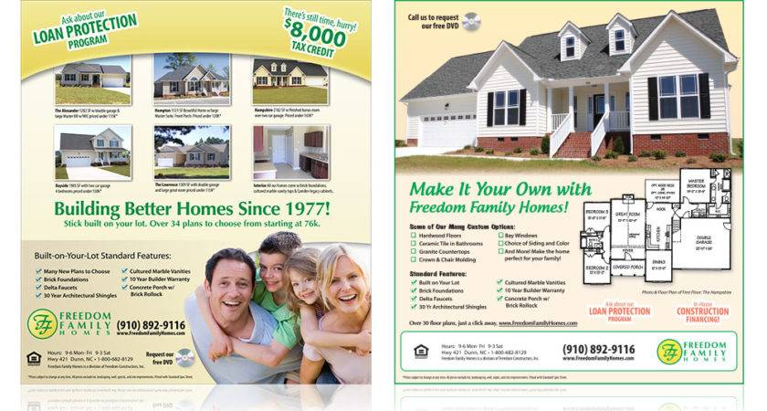 Freedom Homes Print Sample All Pro Media