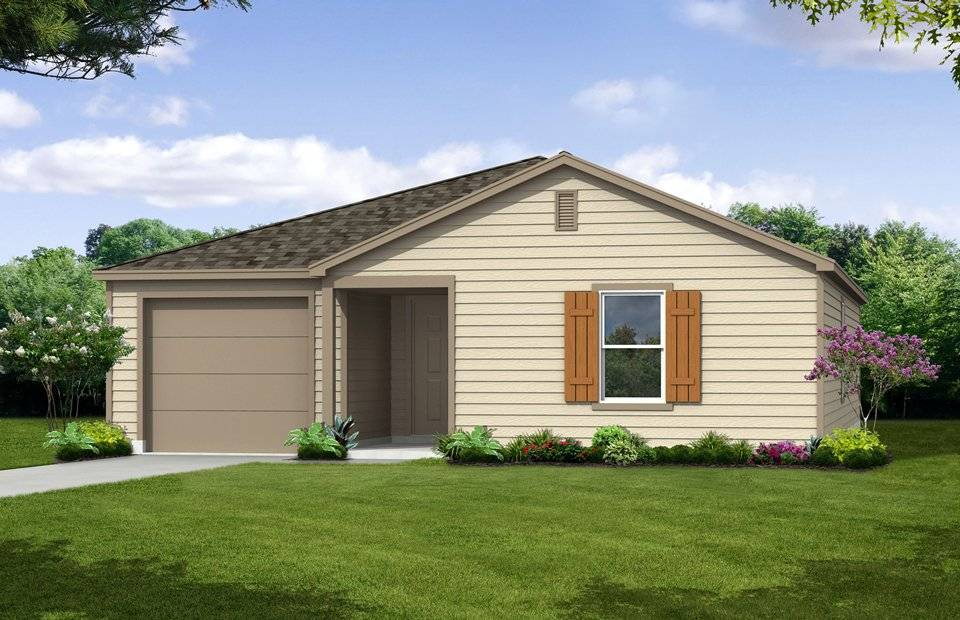 Freedom New Home Plan San Antonio Centex Builders