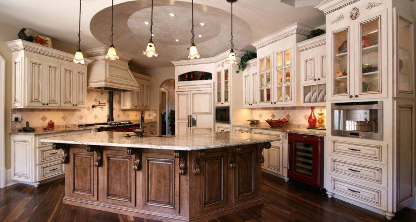 French Country Kitchen Has Many Elements Character Custom