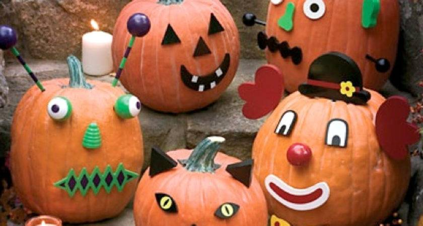 Friendly Halloween Pumpkin Decorating Ideas