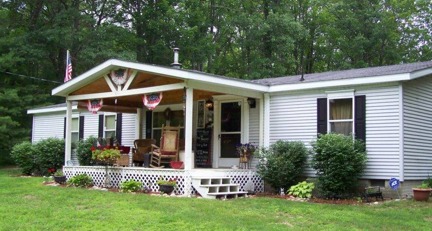 17 Photos And Inspiration Front Porch Designs For Mobile Homes