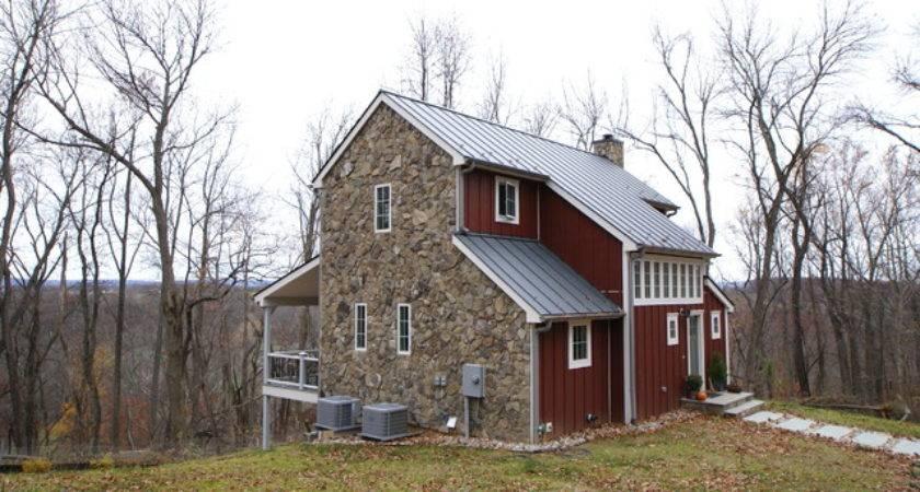 Furnace Mountain Custom Modular Farmhouse Exterior