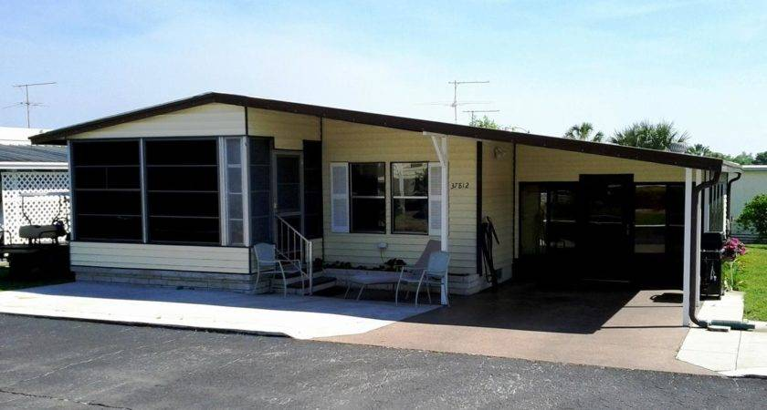 Furnished Double Wide Mobile Home Spanish Trails Village Sale
