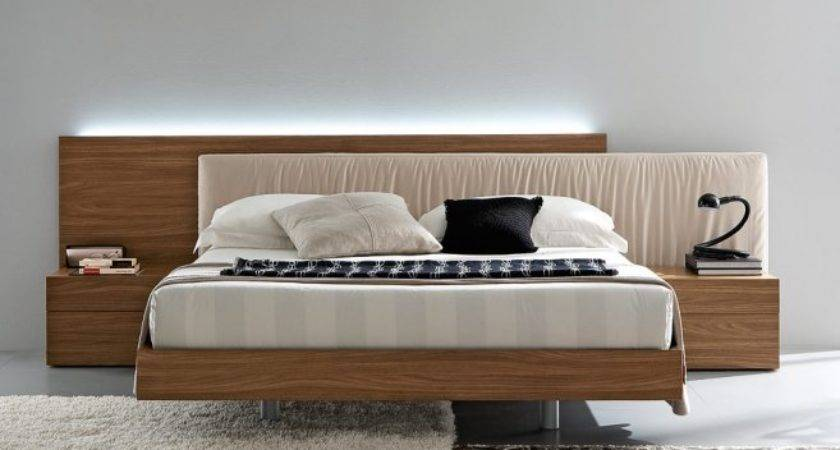 Furniture Modern Headboard Bed Designs Ideas Bedroom Design