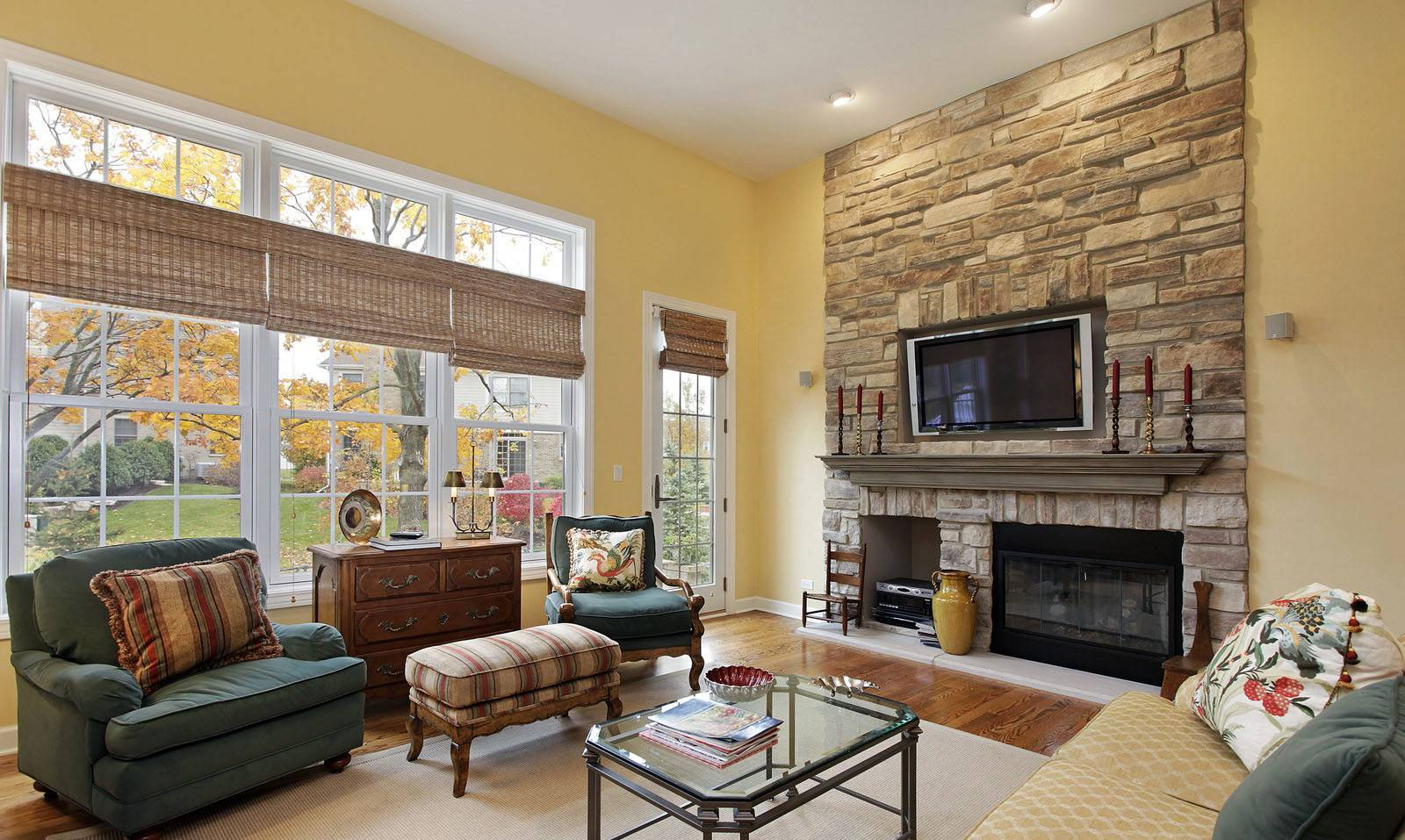Furniture Placement Small Living Room Fireplace ... on Small Space Small Living Room With Fireplace  id=21821