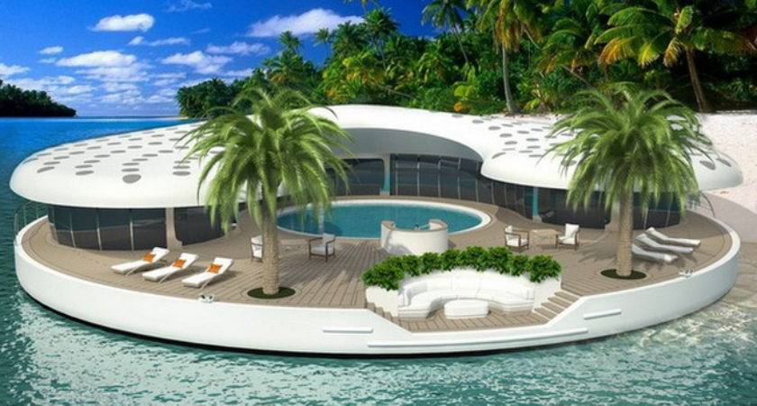 Gadgets News Floating Island Home Concept Dubai Ome