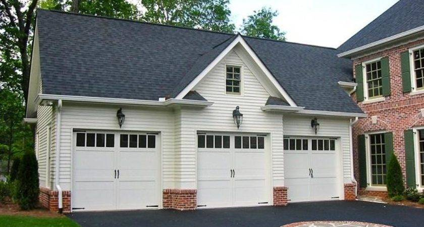 Garage Designs Luxury Traditional White Detached Plans Home