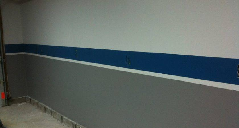 Garage Interior Paint Wall Ideas
