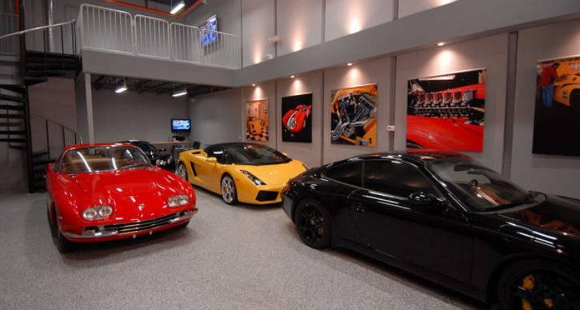 Garage Plus Man Cave Ferrari