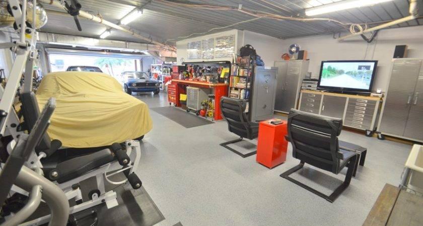 Garage Plus Man Cave Stunning Contemporary Bedroom Home Tierra