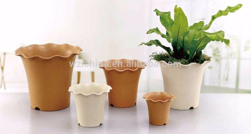 Garden Decoration Plastic Flower Pots Cheap Flowerpot Planter
