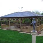 Garden Gazebos Open Oak Structures Timber Ascot