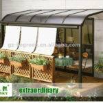 Garden Used Gazebo Tent Aluminum Frame Polycarbonate