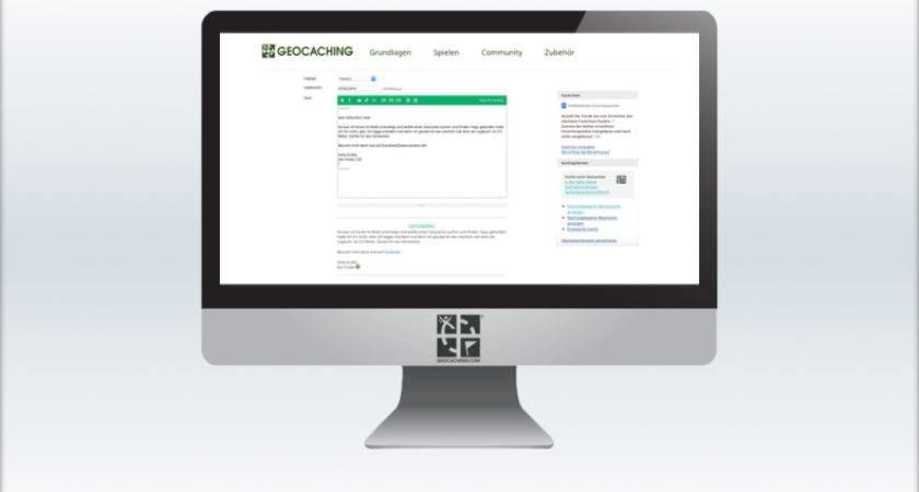 Geocaching Logformatierungen Mit Markdown
