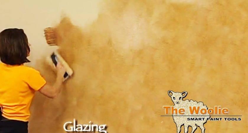 Glazing Color Wash Faux Finish Painting Woolie Paint