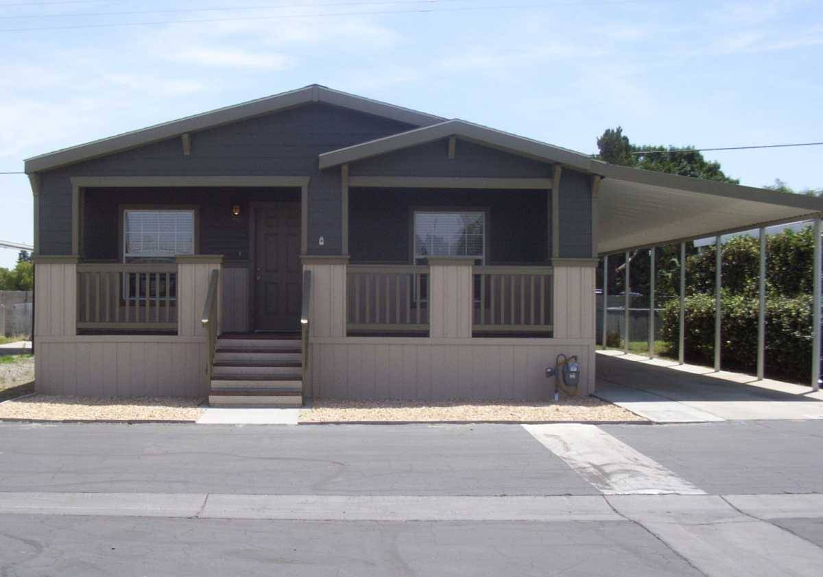 Golden West Craftsman Style Home Charming Front Porch Natural
