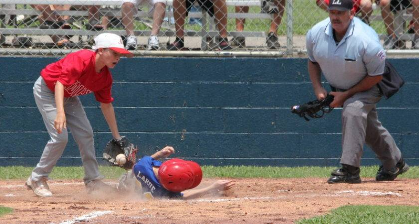 Goodlettsville Player Slides Under Montgomery Central Tag Home