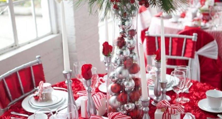 Gorgeous Christmas Tablescapes Centerpiece Ideas