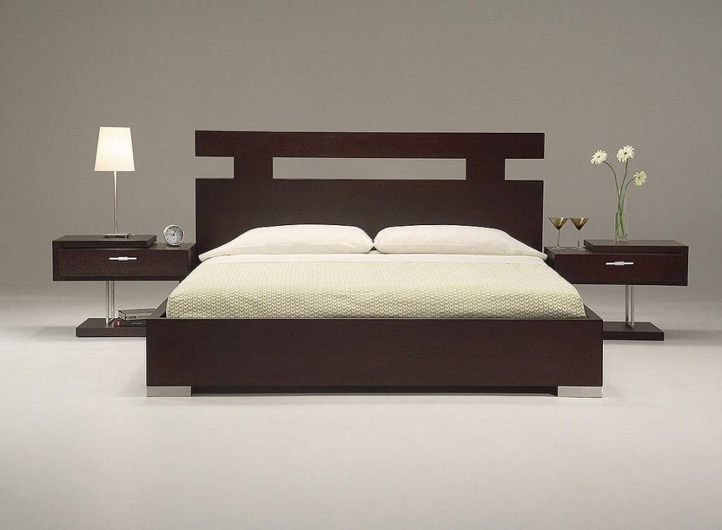 Gorgeous Wood Headboard Designs Beds Home Interior Design Ideas