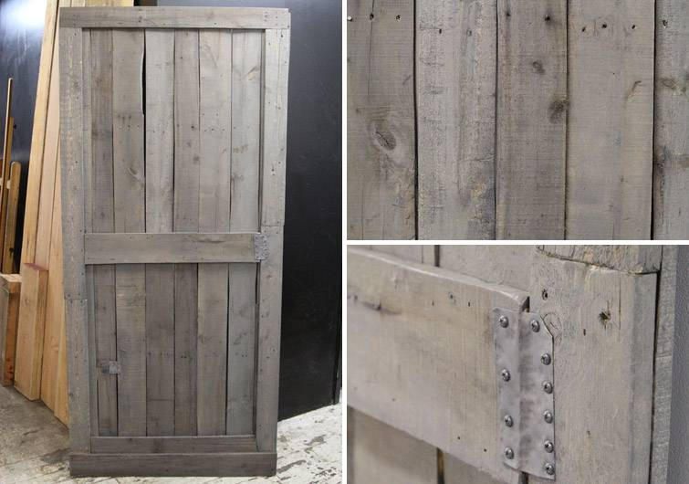 Gray Barn Door Brooklyn Home Company