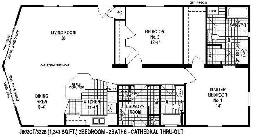 Great Manufactured Home Floor Plans Mobile Living