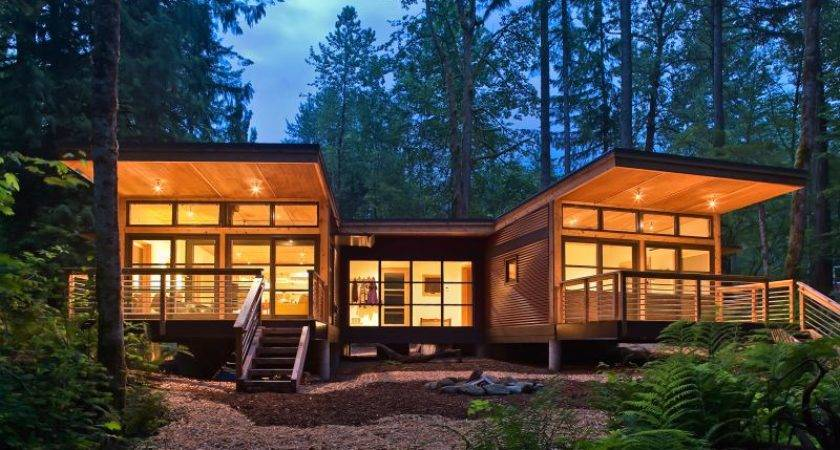 Great Prefabricated Homes Architecture Prefab Log Home