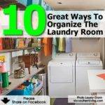 Great Ways Organize Laundry Room