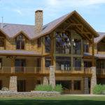 Greatcamp Adirondack Style Homes Plans Floor Designs