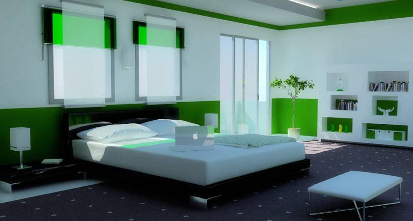 Green Bedroom Grand Skylight Designed Zigshot