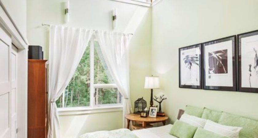 Green Bedroom Houzz