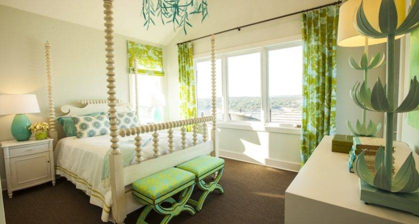 Green Girl Room Contemporary Southern Living