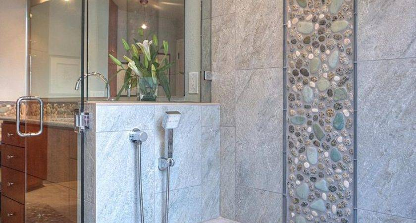 Grey Natural Stone Bathroom Tiles Ideas