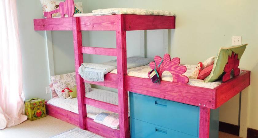 Handmade Dress Triple Bunk Bed Plans