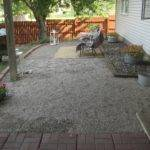 Happy Home New Gravel Patio