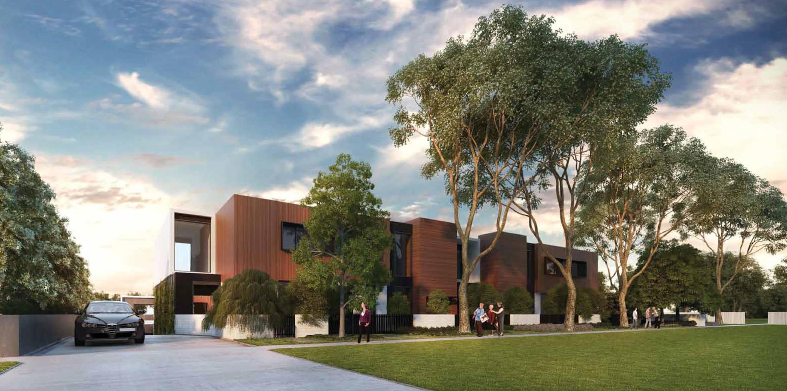 Here Draft Plans Proposed Cambridge Road Mooroolbark