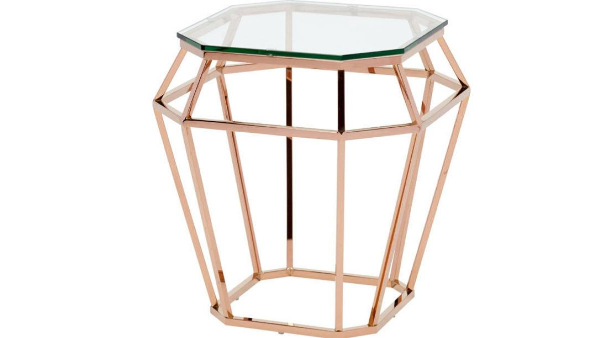 Hex Side Tables Airy Choice Small Spaces Toronto Star