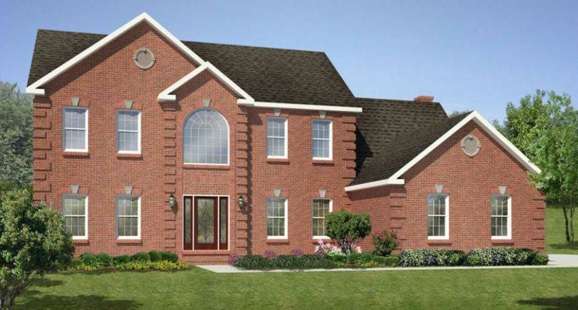 Hickory Square Foot Two Story Floor Plan