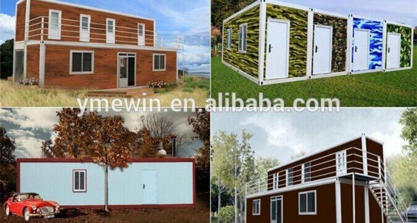 High Quality Low Price Portable Modular Prefab Flat Pack Homes