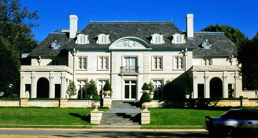 Highland Park Mansion French Provincial Style